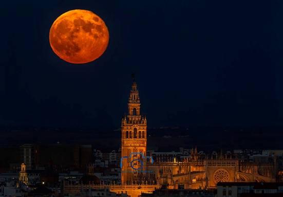Decenas de fotógrafos tomarán imágenes nocturnas de Sevilla desde la Torre Schindler