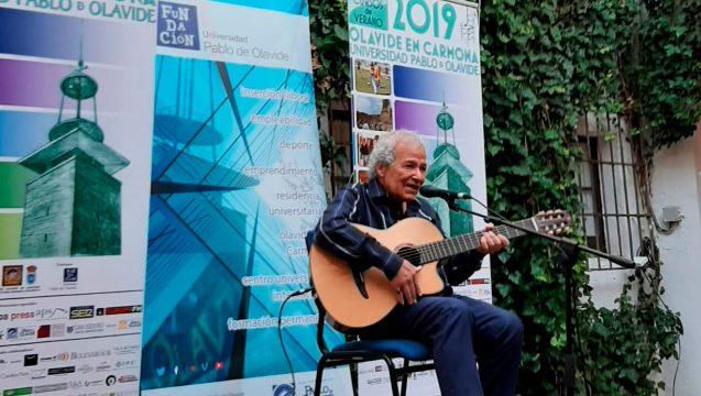 El guitarrista Jayme Marques imparte la conferencia inaugural de los Cursos de Verano de la UPO en Carmona