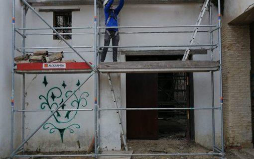 Visto bueno para la nueva fase de las obras de rehabilitación y conservación de la Hacienda de Miraflores