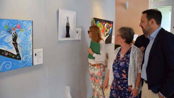 El centro cívico de Las Sirenas acoge la II Muestra de Arte de Personas con Discapacidad 'Movimiento'