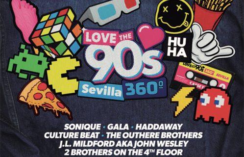 La música de los 90 toma Sevilla