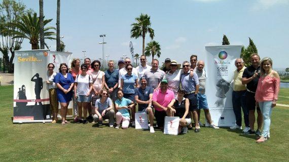 Una veintena de operadores internacionales especializados en golf visitan la provincia
