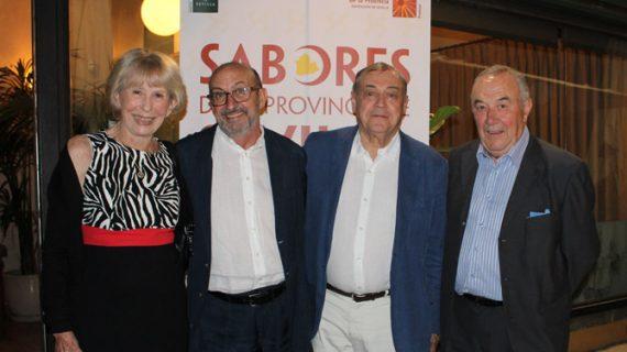 La prestigiosa Academia Internacional de Gastronomía conoce los 'Sabores de la Provincia de Sevilla'