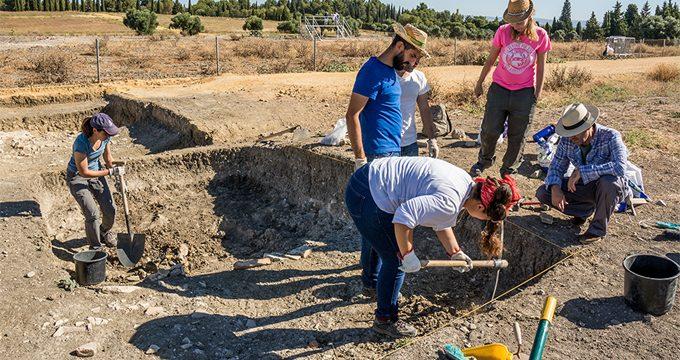 Arranca la intervención arqueológica de un sector desconocido de las Termas Mayores de Itálica