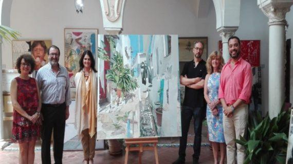 El pintor sevillano Antonio Barahona,  Premio Nacional de Pintura 'José Arpa'