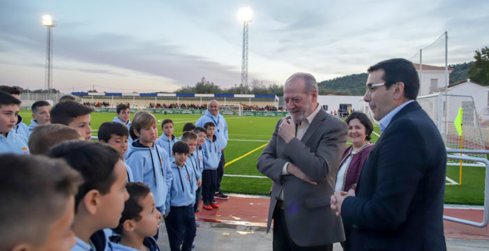Invertidos más de 6 millones en equipamientos deportivos para municipios menores de 15.000 habitantes
