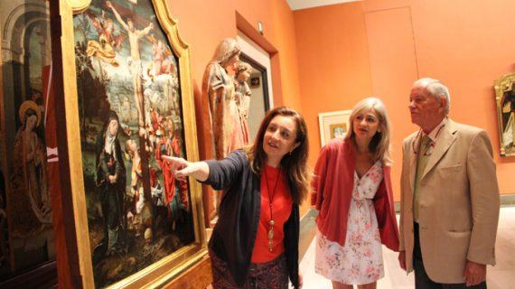 El Museo de Bellas Artes de Sevilla muestra el 'Calvario' de Coecke tras su restauración