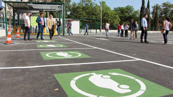 El nuevo aparcamiento de la calle Campamento de Sevilla entra en servicio este mes de julio