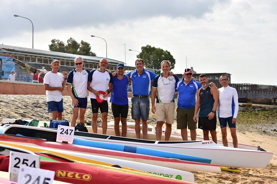 El Club Piragüismo Triana, podio en el Campeonato de Andalucía de ríos y travesías