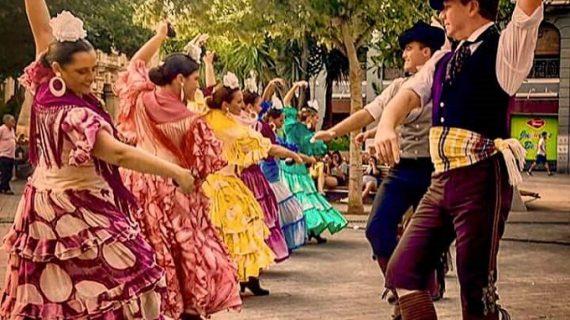 El Grupo de Danzas Ciudad de Dos Hermanas, único representante andaluz en el Festival Folklórico de los Pirineos