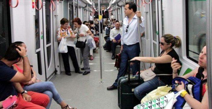 Más de nueve millones de personas viajaron en el Metro de Sevilla durante el primer semestre del año