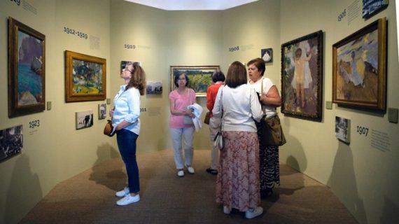 La exposición 'Sorolla tierra adentro' recibe cerca de 6.500 visitas durante su primer mes