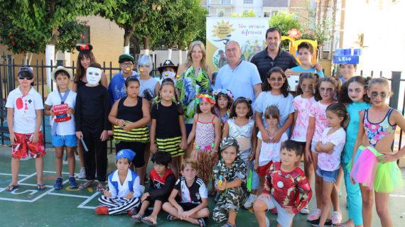Cerca de 40 menores participan en el III Campus Sunset Cajasol de San Juan de Aznalfarache