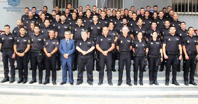 60 nuevos efectivos de la Policía Nacional realizan sus prácticas en Sevilla