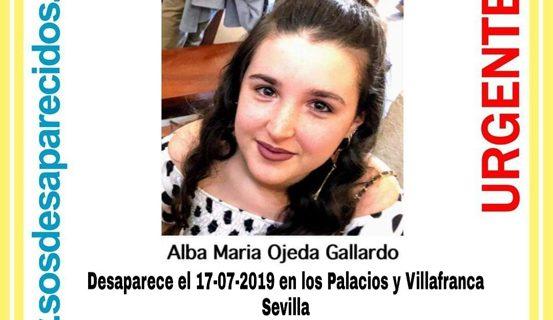 Los Palacios y Villafranca se moviliza para localizar a una menor de la localidad desaparecida