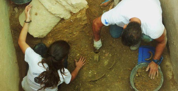 Alumnos del curso de Arqueología de la UPO realizarán las prácticas en un solar de la Edad del Cobre