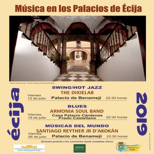 Nueva edición del programa cultural 'Música en los Palacios de Écija'