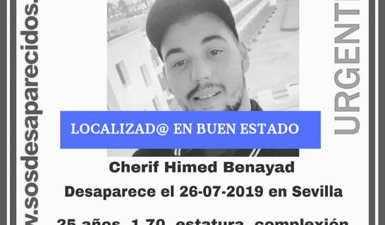 Localizan en buen estado a un joven desaparecido en Sevilla
