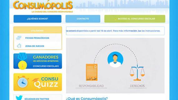 El IES Europa de Arahal, uno de los ganadores de la fase regional del concurso Consumópolis