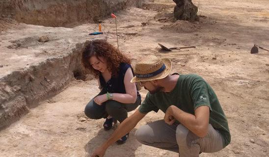 Aparecen nuevos restos arqueológicos junto al antiguo templo fenicio del Cerro San Juan de Coria