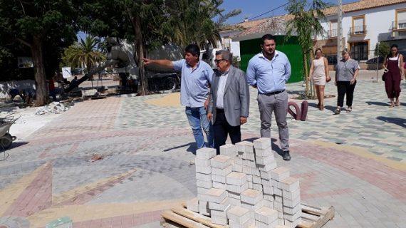 Hacen balance de la inversión en obras del Profea en El Rubio en los últimos tres años