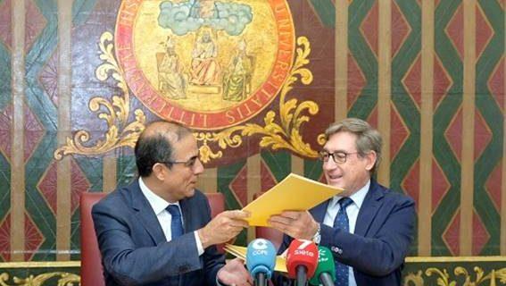 El Puerto de Sevilla y la US firman la puesta en marcha del Centro de Innovación Universitario de Andalucía, Alentejo y Algarve