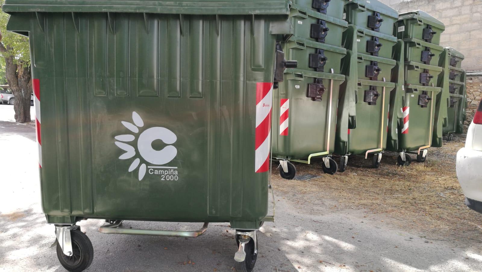 Morón adquiere 200 nuevos contenedores de pedal para la recogida de basura orgánica