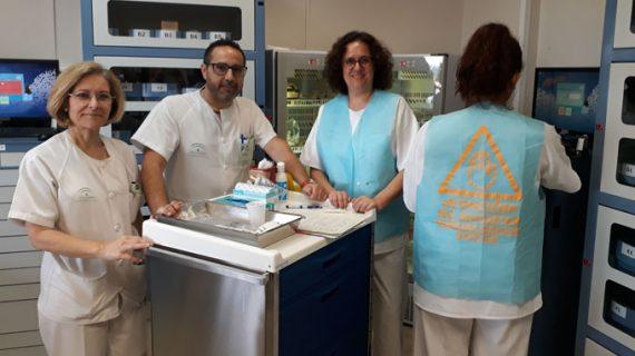 Enfermeros de Medicina Interna del Hospital El Tomillar pilotan un proyecto para potenciar la seguridad del paciente