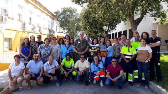 Optimizan con nuevo equipamiento el abordaje de las hemorragias graves las Urgencias Extrahospitalarias del Área Sur de Sevilla