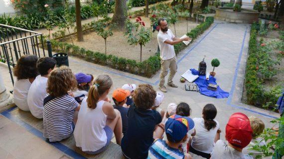 El Alcázar programa actividades didácticas gratuitas para niños durante las mañanas del 8 de julio al 6 de septiembre