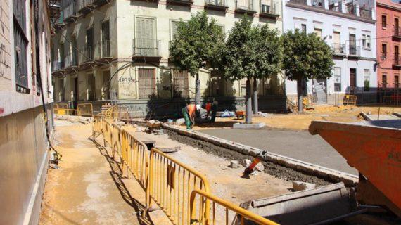 Reurbanizan las calles San Vicente, Duque Cornejo, San Julián y Moravia de la capital hispalense