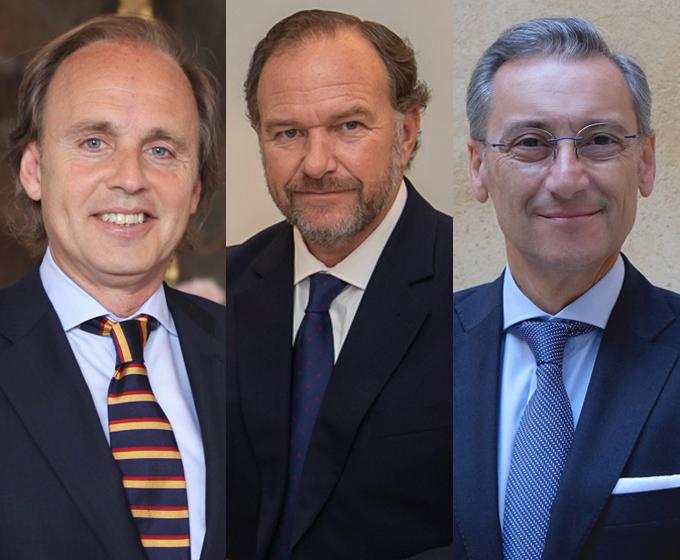 Enrique Ybarra, José Luis García-Palacios y Gabriel Rojas encarnarán a los Reyes Magos en la Cabalgata de 2020