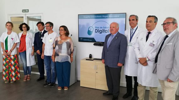 El Hospital Virgen Macarena implanta un Plan de Salud Digital pionero en Europa