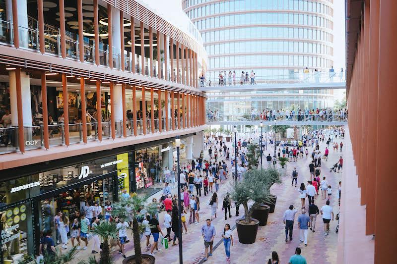 El Centro Comercial Torre Sevilla supera los ocho millones de visitantes antes de su primer aniversario