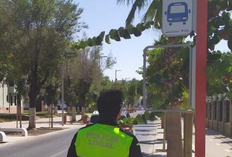 Plan de prevención del vandalismo contra la señalización del bus urbano de Utrera