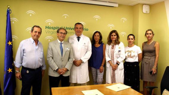 El Hospital Virgen Macarena y la Hermandad de la Macarena activan un programa de cooperación socio cultural