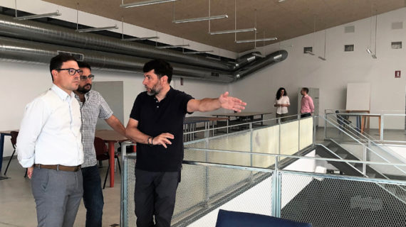 Alcalá pone en marcha un nuevo espacio de incubación de proyectos empresariales