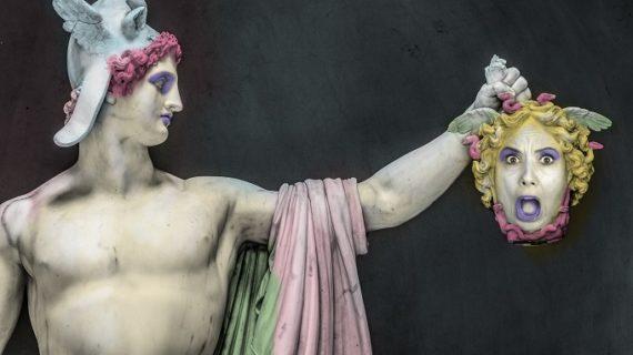 La actriz sevillana Marta del Pozo estrena 'Agripina, rara avis' en Itálica