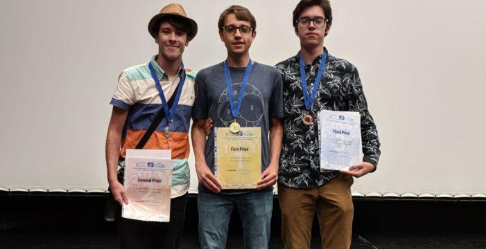 Estudiantes de la US entran en el pódium del campeonato de Matemáticas IMC2019