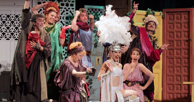 Itálica acoge la representación de 'Contaminatio' dentro del Festival de Teatros Romanos