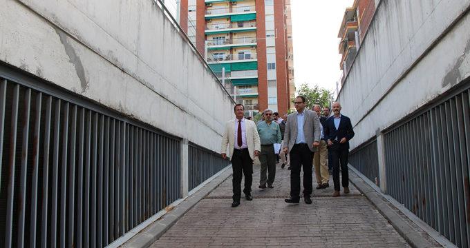 Adjudicada la finalización de las obras y la gestión del aparcamiento de Rafael Salgado