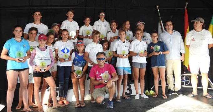 Triple podio para regatistas del Club Náutico Sevilla en la 48ª Semana Náutica de El Puerto de Santa María