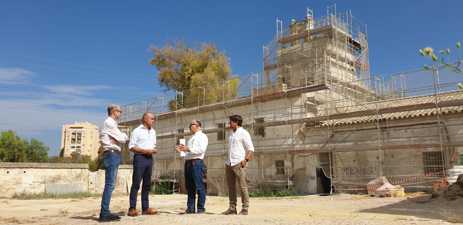 Culminan las obras del 25% de la primera fase de reforma de la Hacienda de Miraflores