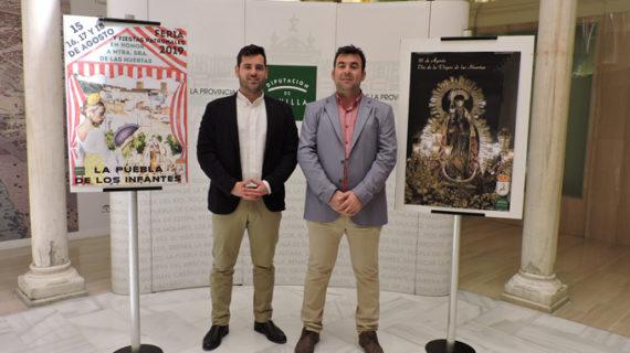 La Puebla de los Infantes celebra la Feria y Fiestas Patronales en honor de la Virgen de las Huertas Coronada