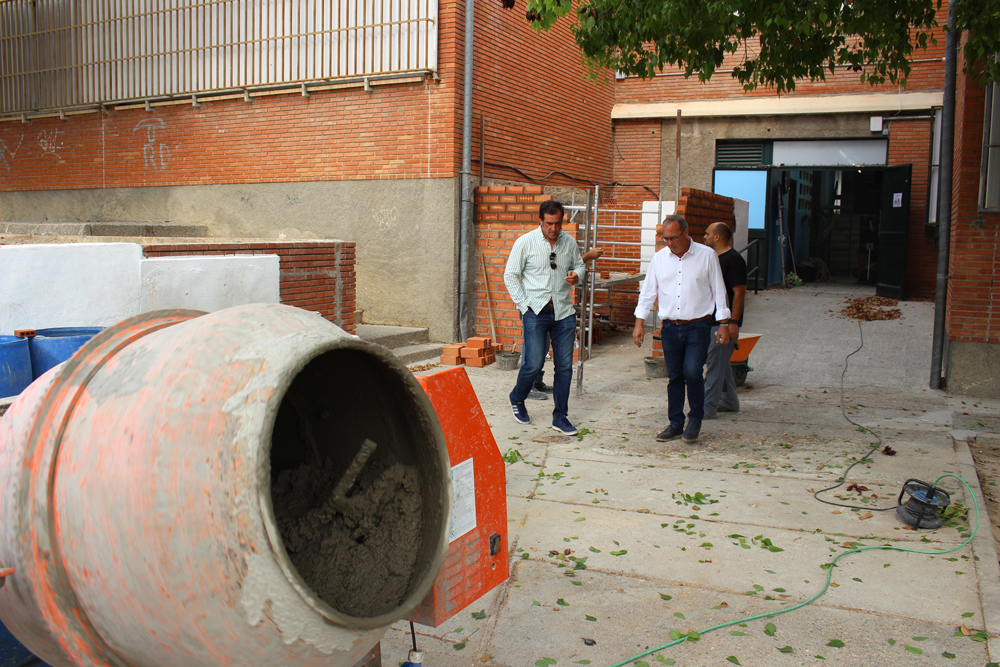 Los colegios de San Juan iniciarán el curso 19/20 con mejoras por valor de más de 150.000 euros