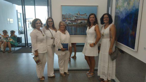Los Reales Alcázares expondrán la revisión de 'La pesca del atún' por pintoras ayamontinas