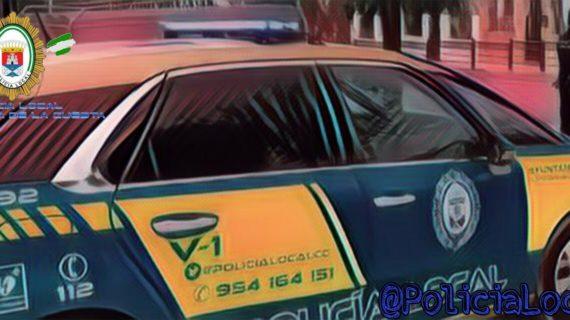 Tres jóvenes, detenidos en Castilleja de la Cuesta por protagonizar una pelea en plena calle
