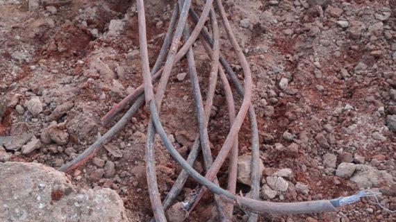 Los tres presuntos autores del robo de cableado de cobre en las obras de las SE-40, detenidos
