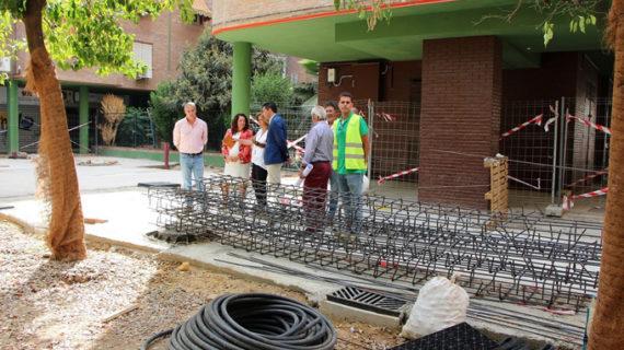 La nueva Plaza Salesiano Don Ubaldo, en Triana, se abrirá a finales de año