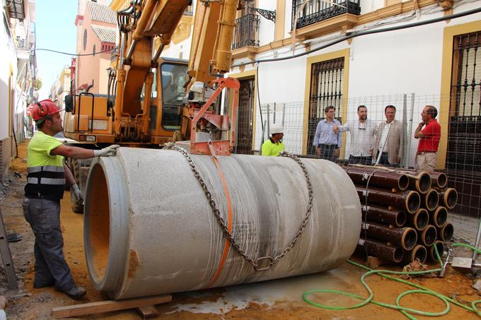 Comienza la segunda fase de las obras de reurbanización integral de San Vicente que finalizarán antes de 2020
